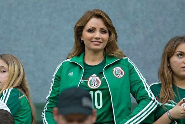 La Primera Dama de México, Angelica Rivera, se encuentra en Recife, Bras...