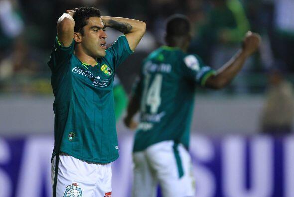 León, quien apenas disputa su segundo torneo de regreso en la Primera Di...