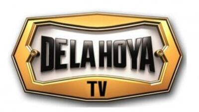 Lanzarón 'De la Hoya TV' (Foto: Twitter).