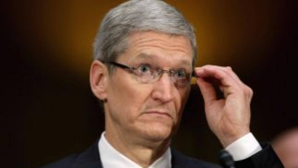 El director ejecutivo de Apple, Tim Cook.