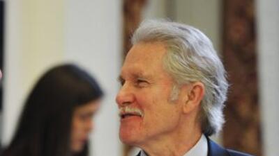 John Kitzhaber, gobernador de Oregon.