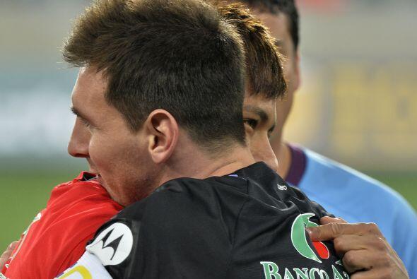 Messi y Neymar será compañeros en el Barcelona, pero desde ya se han dem...