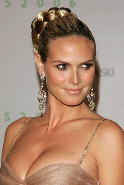 ¿Quién no reconoce a la ex modelo alemana Heidi Klum? Pues ella también...