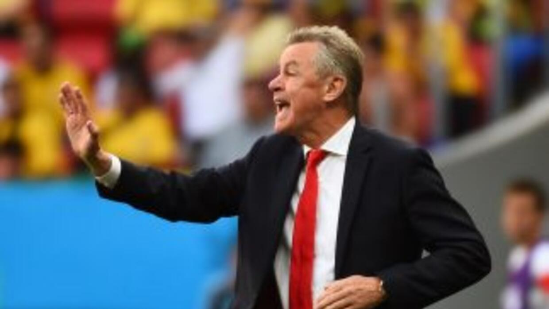 El técnico alemán se mostró contento con el triunfo de Suiza.