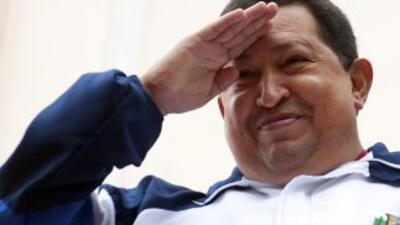 Hugo Chávez, presidente de Venezuela se encuentra en Cuba recibiedo sesi...