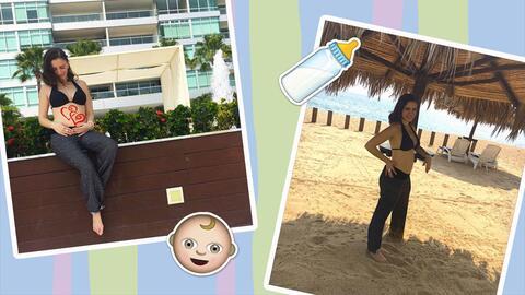Elizabeth Valdez anunció su embarazo el 22 de noviembre a través de las...