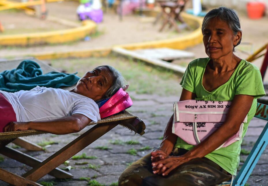 Damnificados terremoto