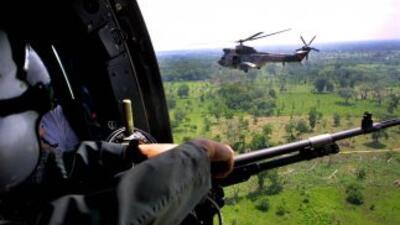 Un helicóptero de la Guardia Nacional Bolivariana se desplomó tras perse...