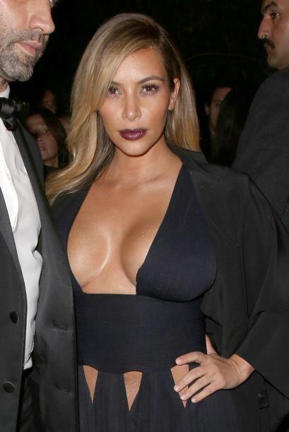 Kim Kardashian no pudo hacer más que gritar y pedir auxilio en esos mome...