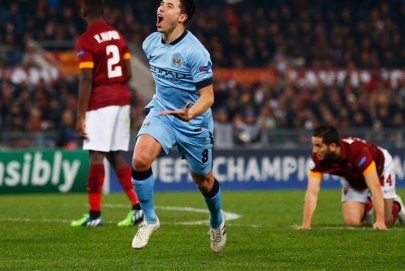 El esfuerzo de la oncena inglesa rindió frutos cuando Samir Nasri metió...