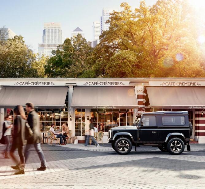 Land Rover Defender Overfinch 40 Aniversario