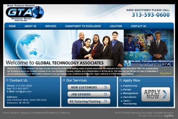 8. GLOBAL TECHNOLOGY ASSOCIATES   Sector de la industria: Agencia de per...