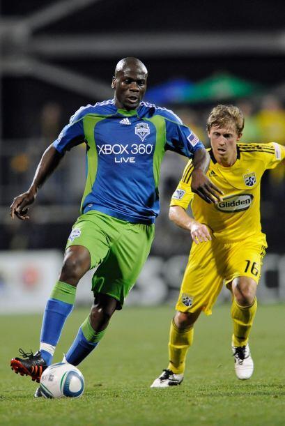 El Crew no pudo contener a Nkufo y se llevó tres goles con su firma.