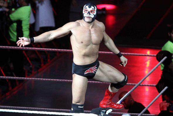 Alberto del Río debutó en 2000 y sólo ha luchado una vez en una batalla...