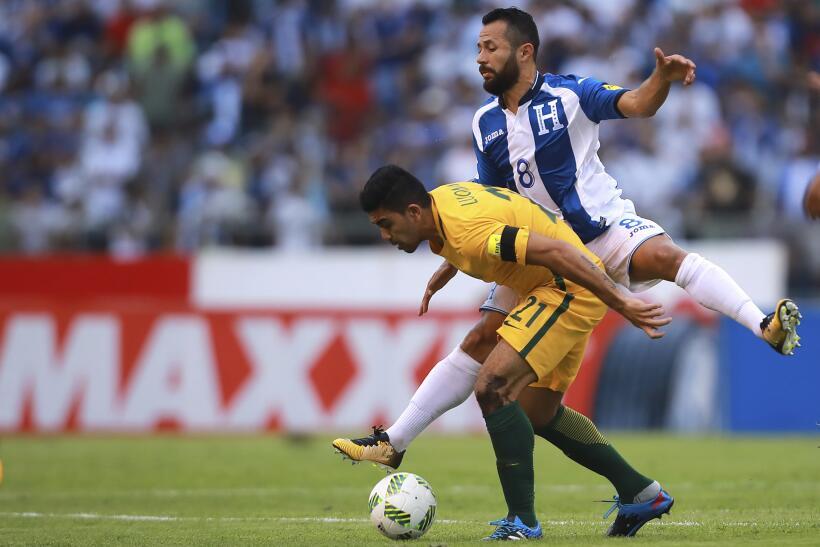 Honduras empata 0-0 con Australia y se aleja de Rusia 2018 en el juego d...