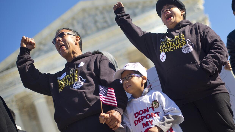 Protesta frente a la Corte Suprema en Washington