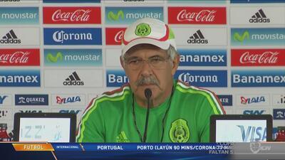 'Tuca': ''Gio es baja por lesión, Guardado y Márquez se recuperaron y es...