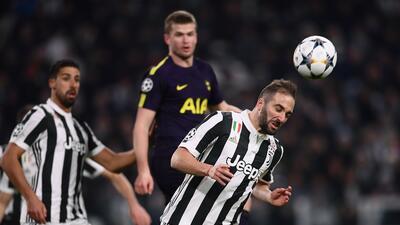 En fotos: Intenso empate entre Juventus y Tottenham en la ida de octavos en Champions