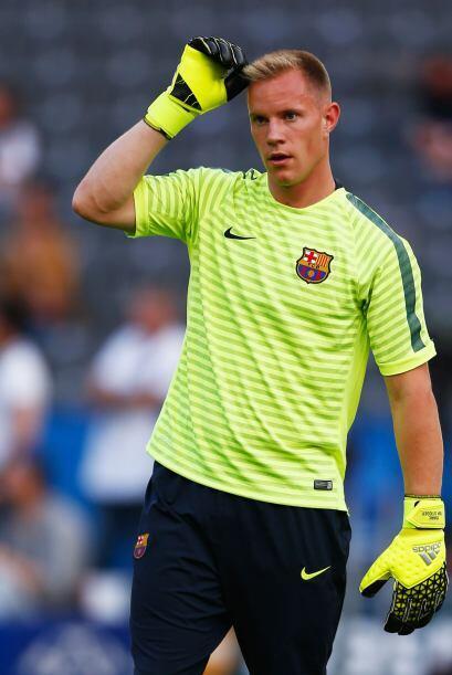 En el otro marco aparecerá al joven arquero del Barcelona, Marc-André Te...