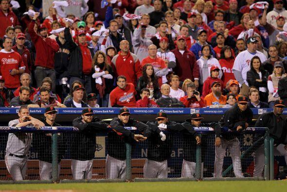 Phillies venció a Giants y empató la Serie de Campeonato de la Liga Naci...