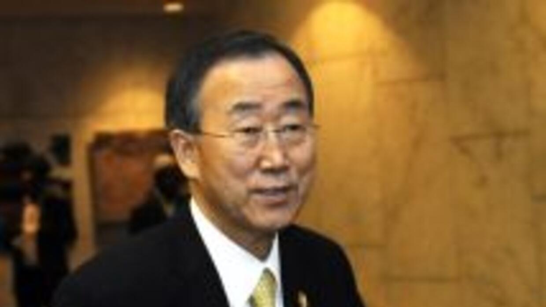 El secretario general de la ONU, Ban Ki Moon anunció una visita oficial...