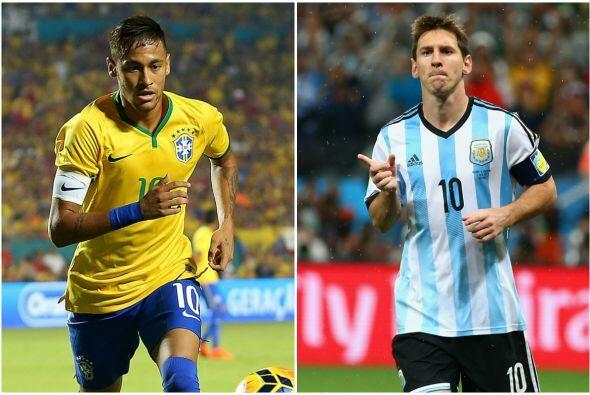 El sábado comenzará con un choque extraordinario cuando Argentina y Bras...