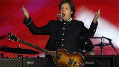 Joven y energético, Paul McCartney es de los pocos rockeros que aún brin...