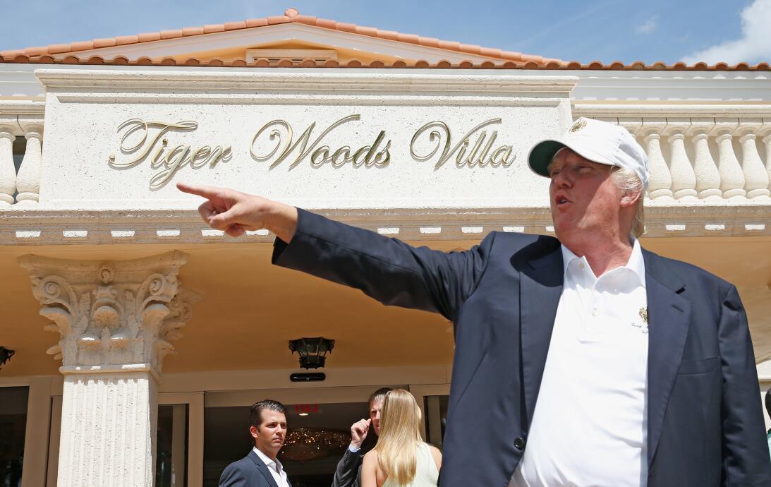Los amigos de Donald Trump en el golf internacional gettyimages-47679029...