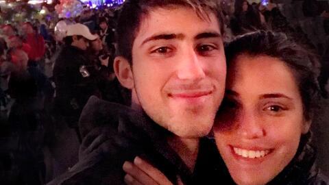 Joaquín Oliver y su hermana Andrea Guersi vinieron de su pa&iacut...