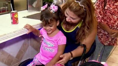 Ver caminar a su hija: el anhelo de una madre cubana que lucha por mejorar su vida
