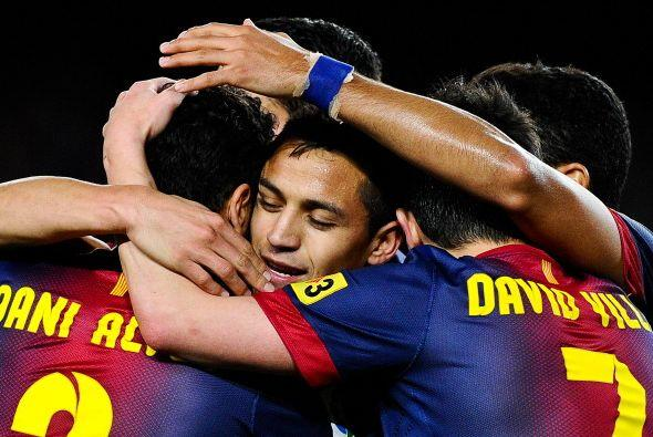 Alexis se reencontraba con el gol.