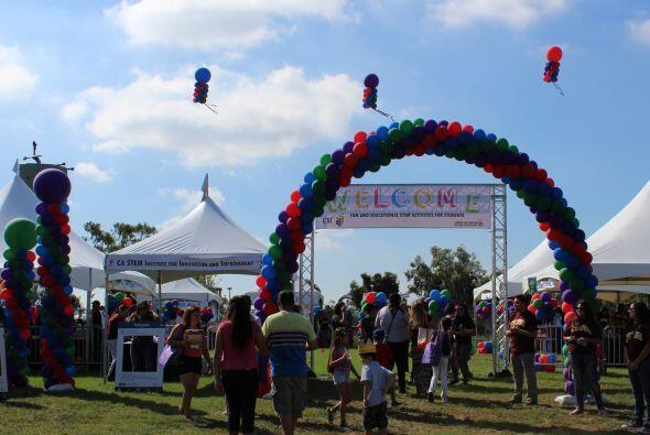 Miles se dieron cita en la séptima edición de la Feria de Educación que...