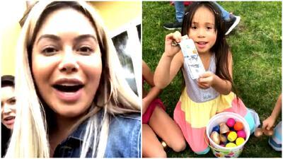 Huevos con billetes de $100: tremenda celebración de Pascua en casa de Chiquis Rivera