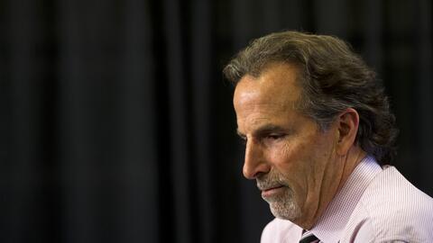 John Tortorella, entrenador de la NHL