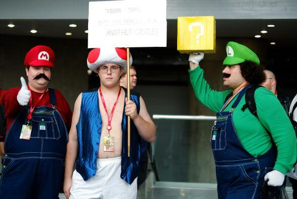 No dudamos encontrarnos con más de un Mario Bros pidiendo 'dulce o truco...