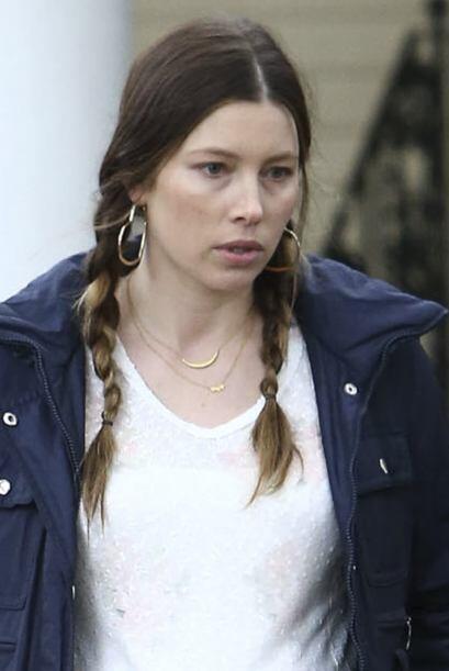 La hermosa actriz atraviesa la última etapa de su embarazo.