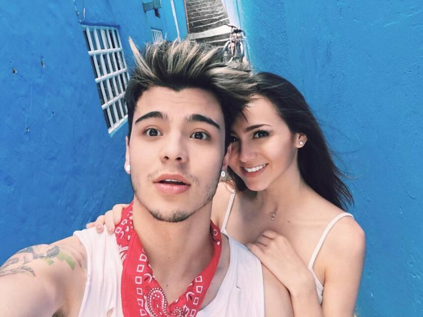 El amor entre Sebastián Villalobos y Daniela Rueda va viento en popa.