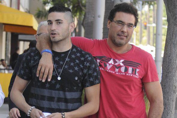 Eduardo y Lalo Jr. disfrutaron de un día bastante agradable en Los Ángeles.