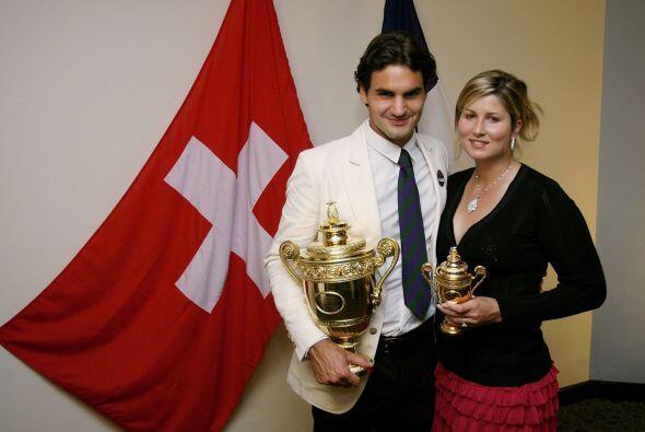 El amor le llegó a Federer durante los JO de Sydney 2000, donde se enamo...