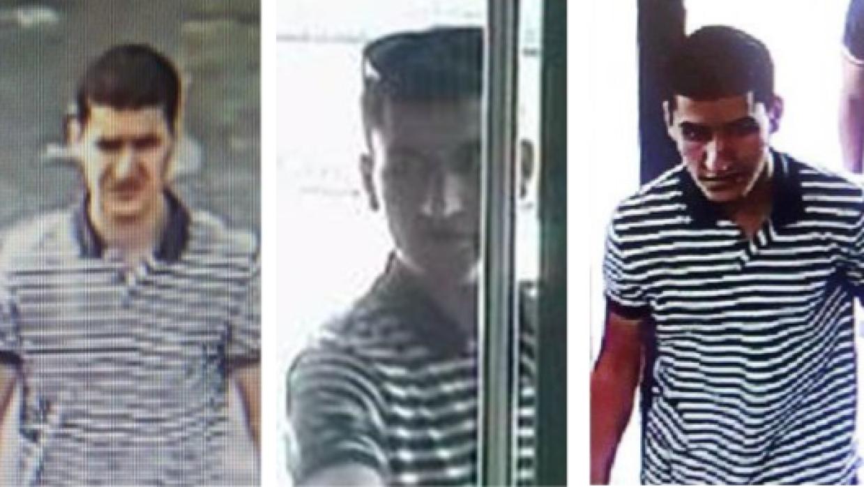 Younes Abouyaaqoub, imágenes de cámaras de seguridad