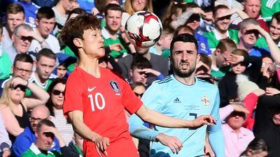 Los asiáticos perdieron por marcador de 2-1 en duelo de preparaci...