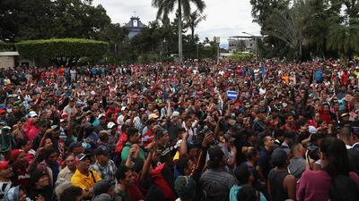 ¿Qué tienen que hacer los integrantes de la caravana de migrantes si logran llegar a EEUU?