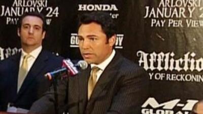 Oscar de la Hoya se confesó con Gelena