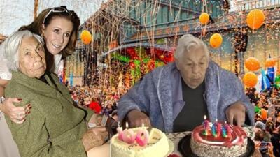 Esto es lo que sabemos del homenaje a la abuelita de Thalía