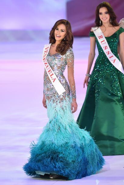 Miss Venezuela, Debora Menicucci, no figuró entre las finalistas.