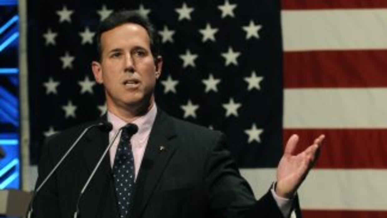 Rick Santorum, ex senador republicano.