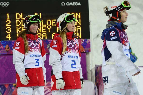 Con las medallas de las hermanas Dufour-Lapointe, Canadá ocupa el segund...