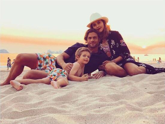 Horacio Pancheri, Paulina Goto y Benicio
