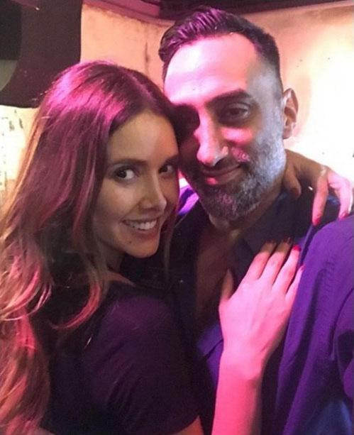 Marlene Favela y George Seely
