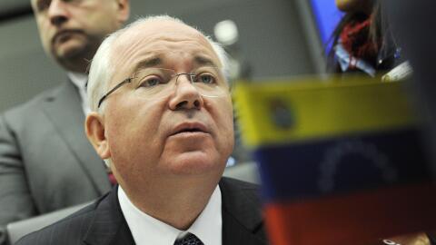 Rafael Ramírez, embajador de Venezuela en la ONU